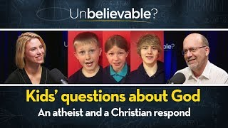 Kids' questions about God - a Christian and atheist respond. David Robertson & Hannah Timson