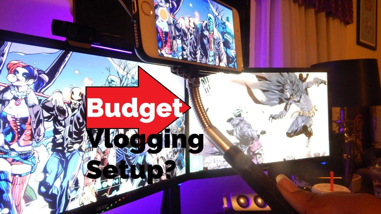 vlogging on a budget use a selfie stick youtube. Black Bedroom Furniture Sets. Home Design Ideas