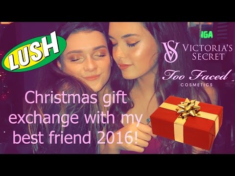 ♡Christmas gift exchange with my best friend 2016♡ | India Grace
