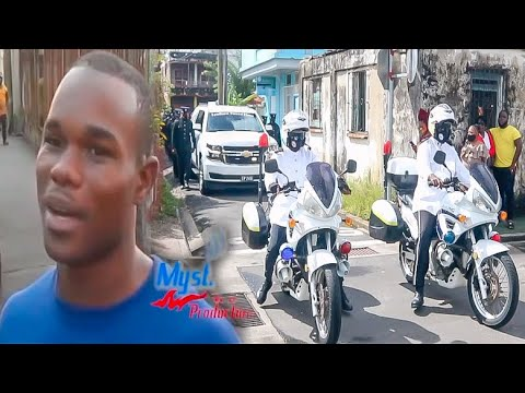 PHILSBERT WILLIAMS GOALS & MILITARY MARCH PASS IN PORTSMOUTH DOMINICA: SAYING FAREWELL - BrBpTV