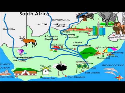 Ancient Garden of Eden and its rivers is in Africa Bantu land