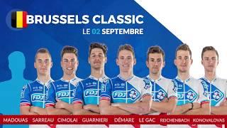 Composition de l'équipe FDJ pour la Brussels Classic