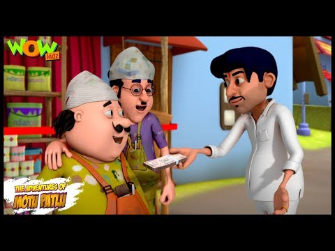 Mehnat Ki Kamayee - Motu Patlu in Hindi WITH ENGLISH, SPANISH & FRENCH SUBTITLES thumbnail
