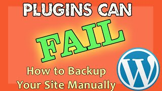 How to Backup WordPress Without Plugins