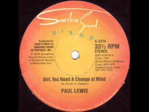 Paul Lewis - Girl, You Need A Change Of Mind (Astrolabio Discotheque) 1979
