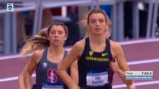 2018 NCAA Indoor Women's DMR