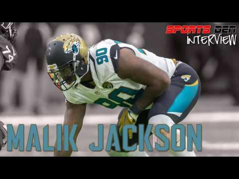Malik Jackson Jaguars Interview - Sports Den Live