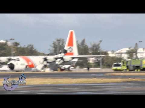 Coast Guard Plane Fuel Leak Dec 15 2010