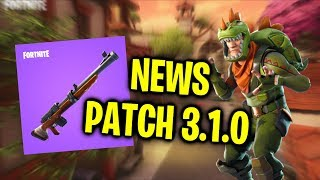 PATCH 3.1.0/* LEAKED * NEW SKINS/DANCES/PICKS-Fortnite News!