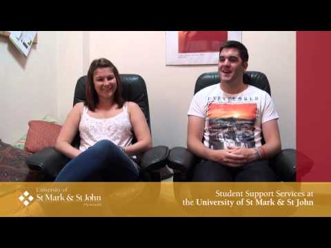 Welcome to Student Support - University of St Mark & St John