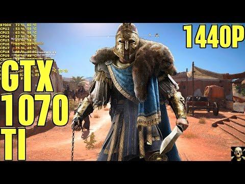 Assassin's Creed Origins Gtx 1070 Ti Fps Performance Ultra High!! 1440P