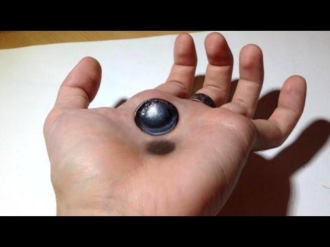 Dessin Sur La Main 3d Boule En Levitation Youtube
