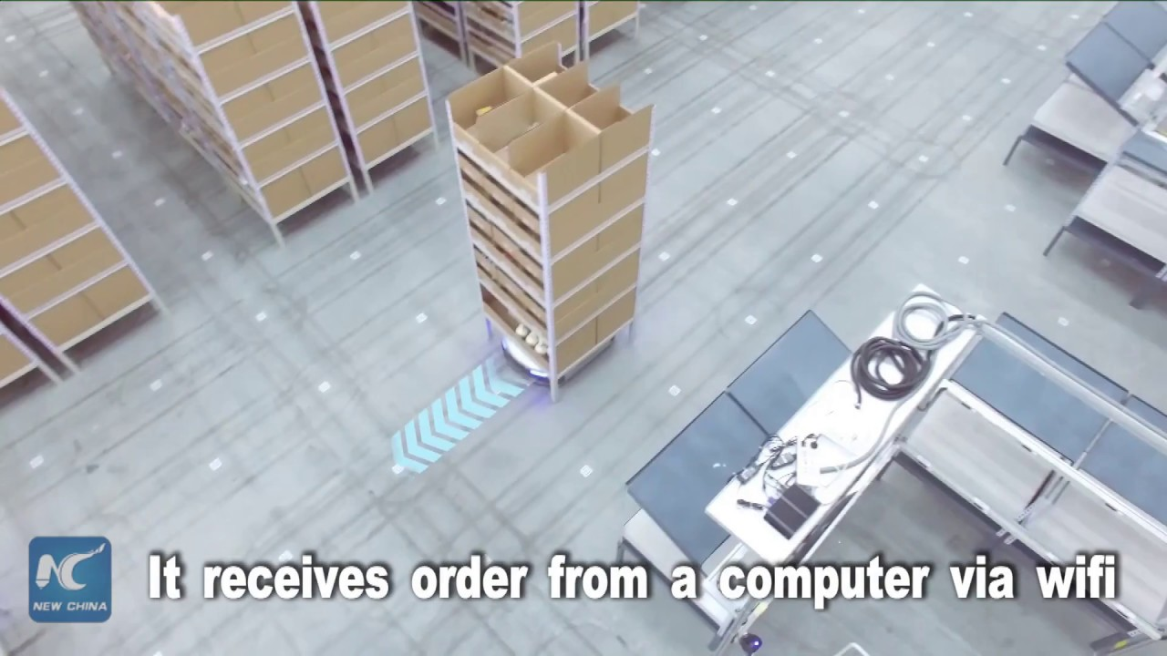 The busiest employee in a warehouse meet china made warehouse robot the busiest employee in a warehouse meet china made warehouse robot malvernweather Images