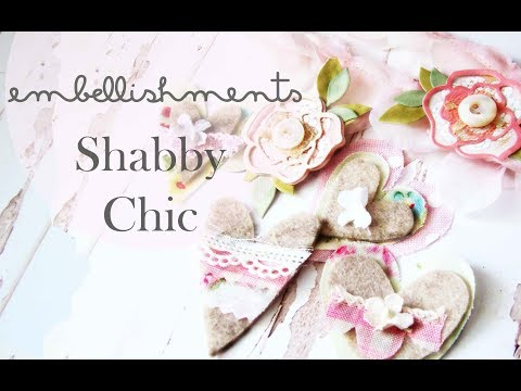 Embellishments Shabby Chic DIY  scrapbook embellishments Tutorial SCRAPBOOKING | Iralamija