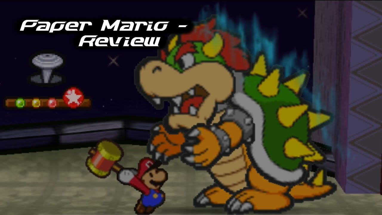 paper mario wii u vc review youtube