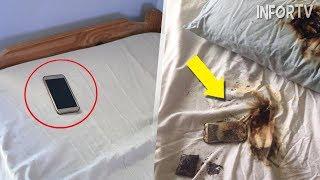 Esta es la razón por la cual JAMÁS DEBES poner tu Smartphone debajo de la almohada