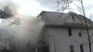 96th Street Fire -- Woodhaven -- 02/12/09