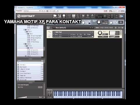 YAMAHA MOTIF XF for KONTAKT 5 2 1 PROPER   Magesy® R-Evolution™