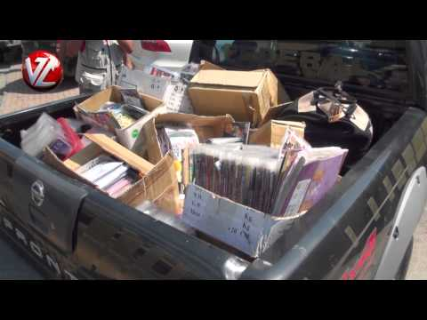 Suspeitos de tráfico de drogas, extorsão e contrabando são presos