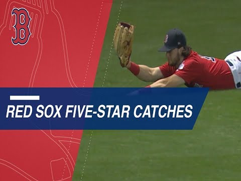 Statcast measures the Red Sox's five-star catches