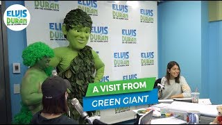 Our Morning with Green Giant | Elvis Duran Exclusive