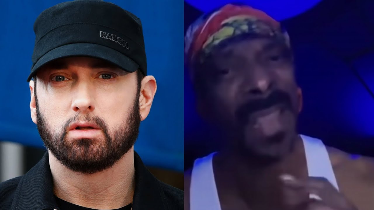"""Snoop Dogg Previews New Eminem Diss Track On Instagram... """"He Better Leave Me Alone"""""""