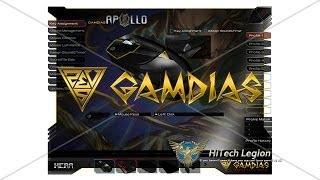 GAMDIAS APOLLO Extension Optical Gaming Mouse and HERA Software