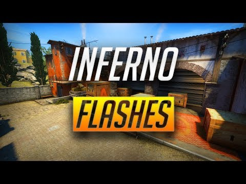 INFERNO POP FLASHES YOU NEED TO KNOW! - CSGO (2018)