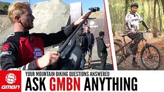 Building A Fat Bike, Camera Angles & Bunny Hop Help | Ask GMBN Anything About Mountain Biking
