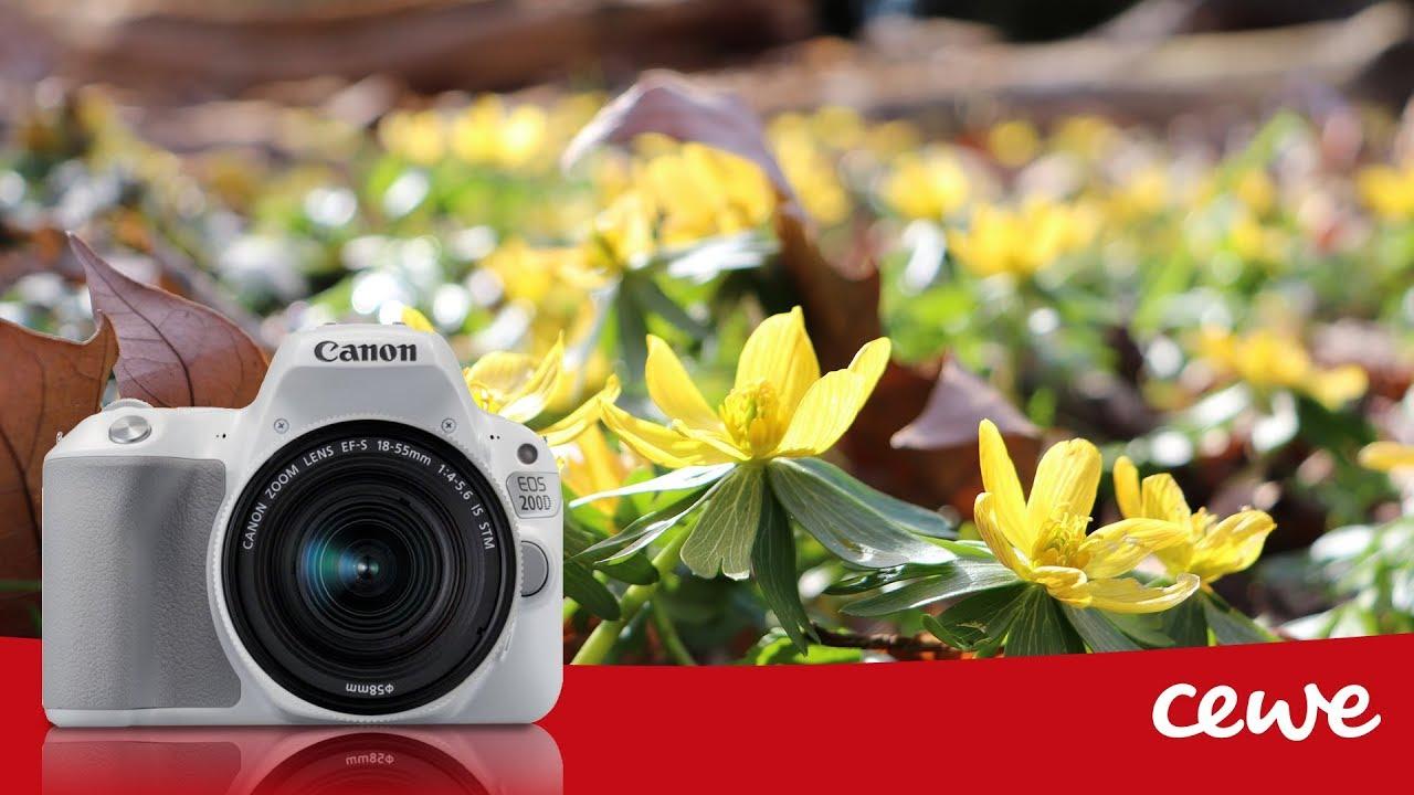 CANON EOS 200D - recenzia by CEWE FOTOLAB SK