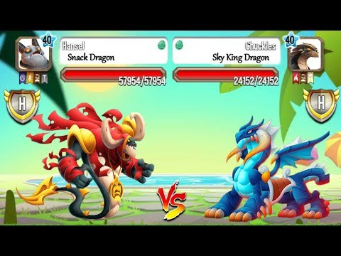 Dragon City - Legendary Dragon vs Heroic Dragon [SPECIAL COMBAT]