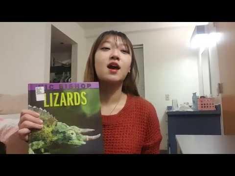 Nic Bishop Lizards Book YeJin Jun