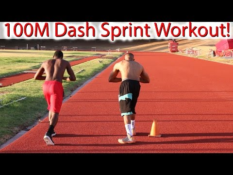 100 Meter Dash Sprint Workout to Run Faster!