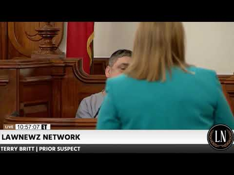 Holly Bobo Murder Trial Day 7 Part 1 Terry Britt Testifies 09/18/17