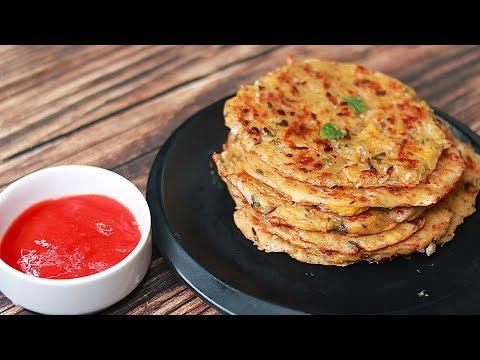 Potato Pancake | Potato Snacks Recipes | Easy Lunchbox Idea | Toasted