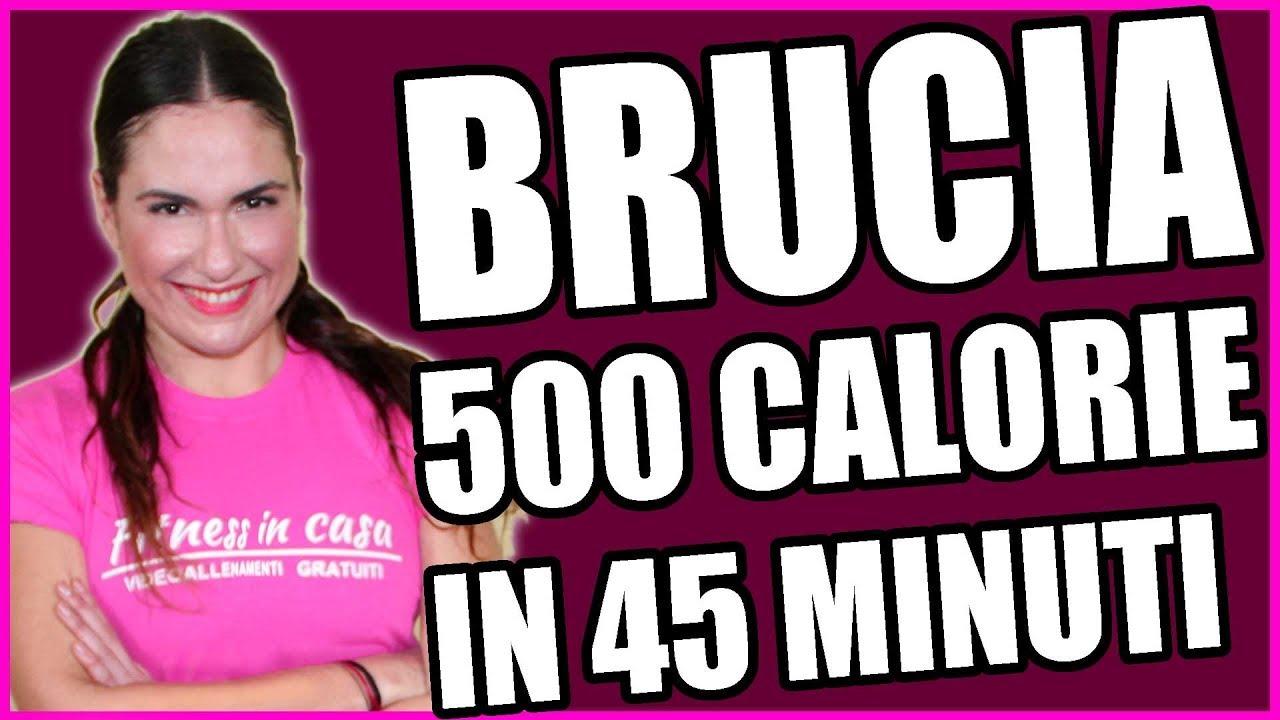 Allenamento completo per dimagrire e bruciare 500 calorie! Esercizi perdere peso circuito avanzato