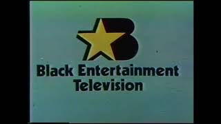 BET Black Entertainment Television Funky Network Station ID (1982)