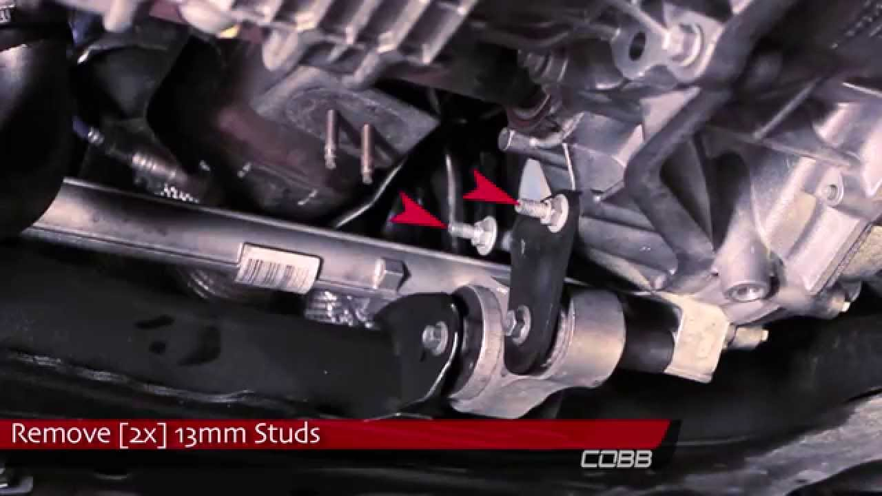 Cobb Rear Motor Mount Install How To Ford Fiesta St 2014