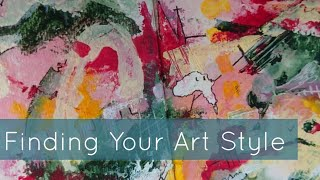 TIPS TO FIND YOUR ART STYLE - SKETCHBOOK TOUR