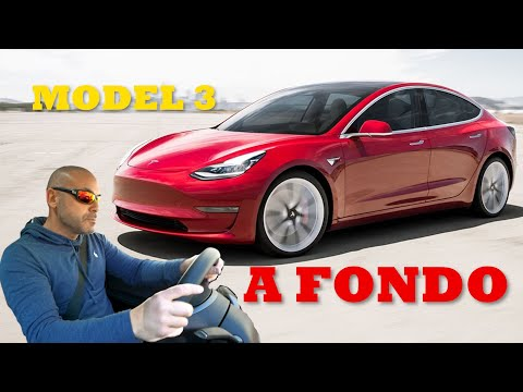 SUPERTEST ELCTRICO: TESLA MODEL 3: Consumos, calidad interior, prestaciones USO REAL  (Parte I)