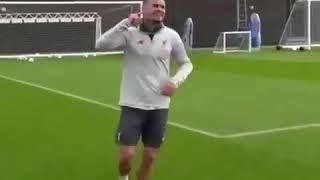Самые смешные моменты на футбольных тренировках
