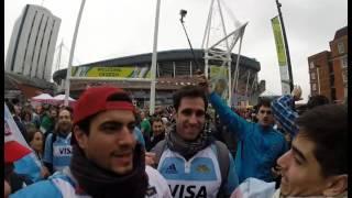 Recibimiento de Los Pumas Millenium de Cardiff vs. Ireland