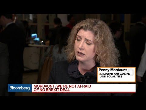 U.K.'s Mordaunt Says Government Is Ready for Any Brexit Eventuality