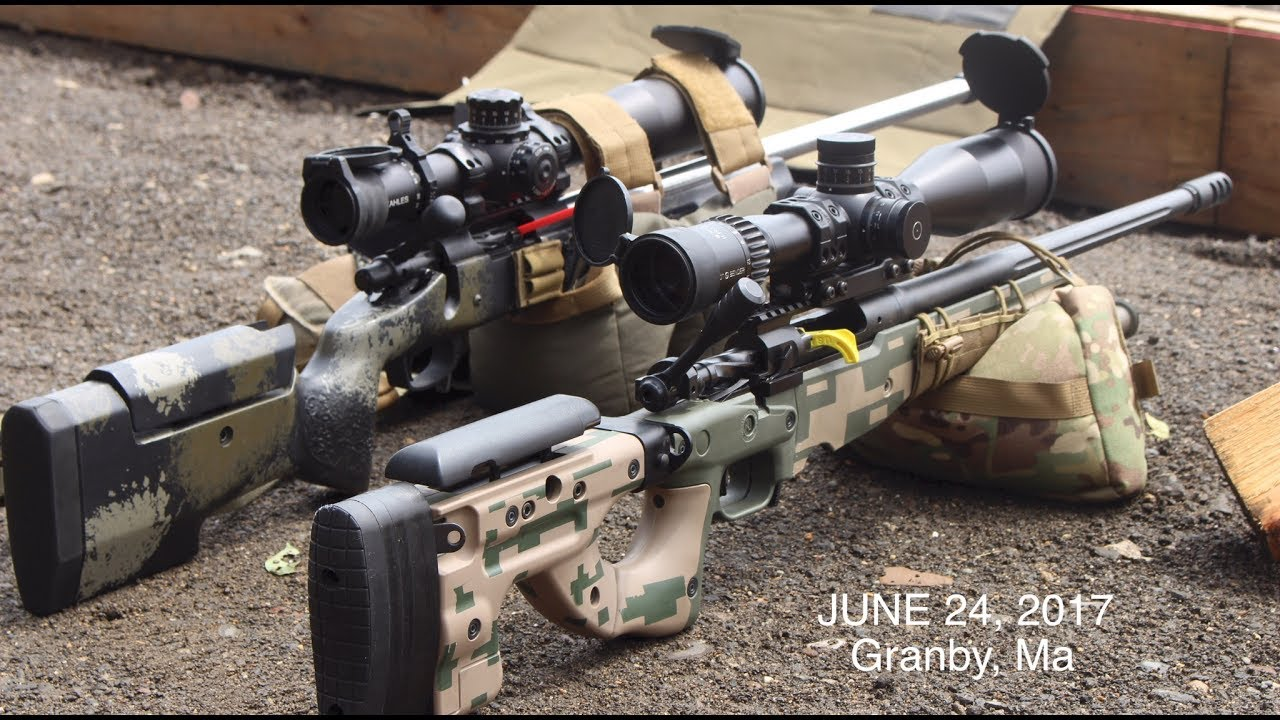 Long Range Precision Rifle Match - June 24,2017 Granby Ma (CLUB MATCH)