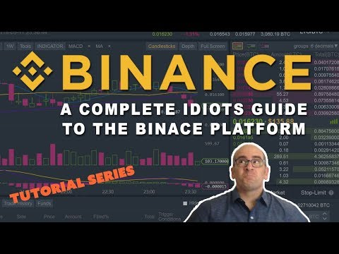 A Complete Idiots Guide To The Binance Trading Platform
