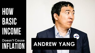 Andrew Yang | UBI Doesn't cause Inflation (Freakonomics)