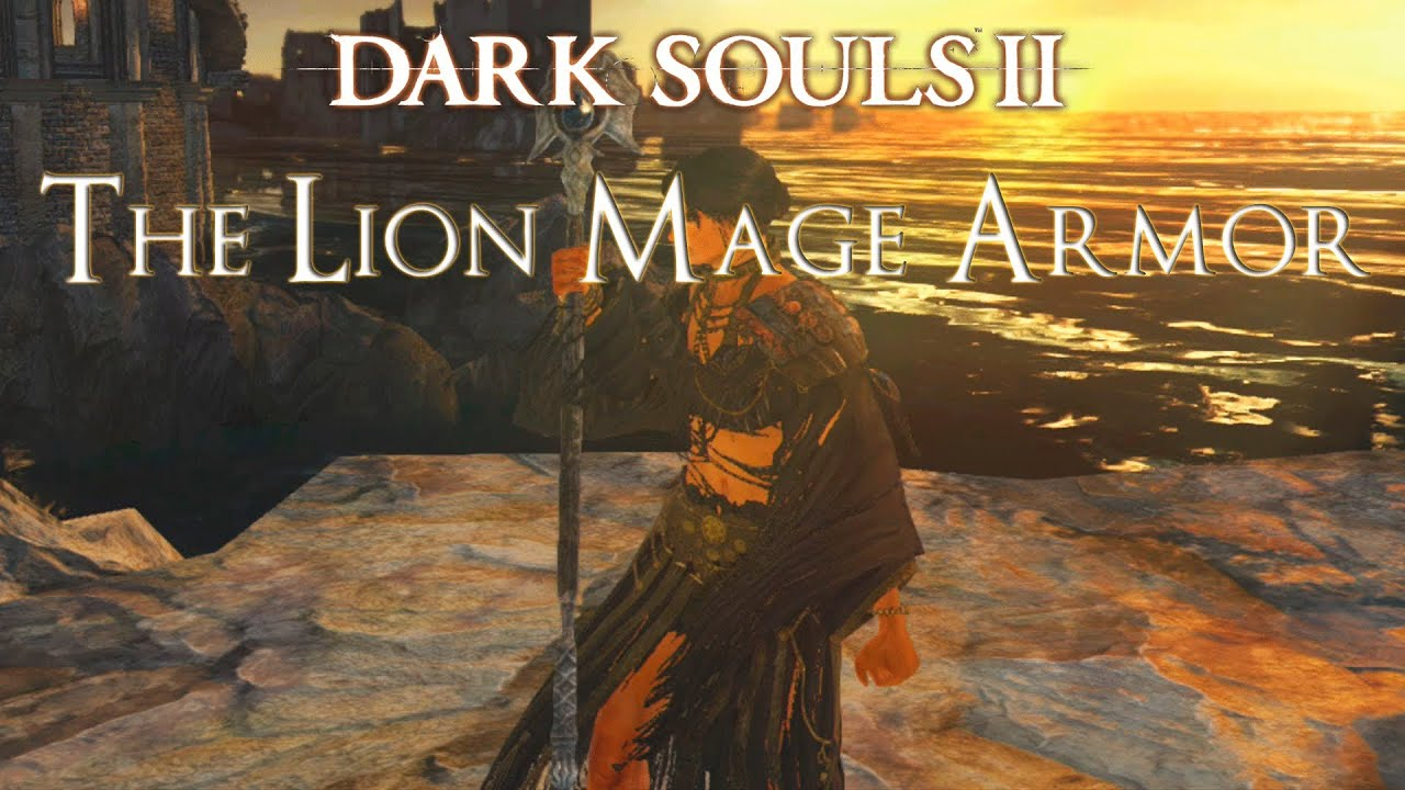 Dark Souls 2 Where To Find The Lion Mage Armor In Shaded Woods