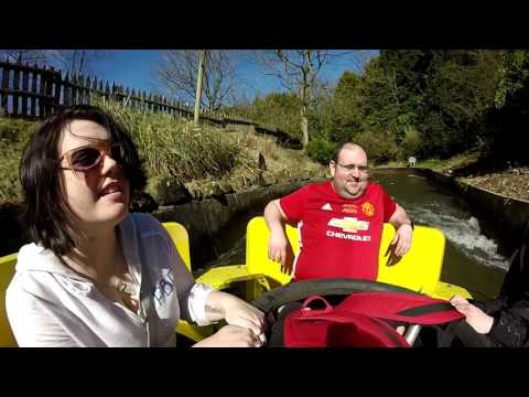 Congo River Rapids On-Ride POV Alton Towers Resort 60FPS