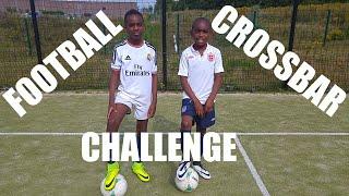 FOOTBALL: Crossbar Challenge & Entraînement | K-Boyz TV