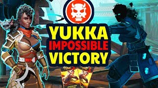 Shadow Fight 3. How to Defeat YUKKA on IMPOSSIBLE. Lucky Legendary Pack!